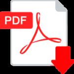 Flat PDF logo