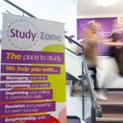 Coniston Study Zone stair case