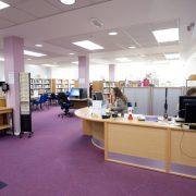 Euxton Lane Library Study area