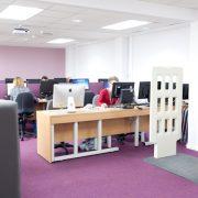 Euxton Lane Library computer area
