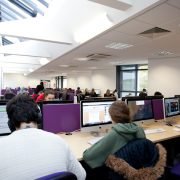 Langdale Library computer area