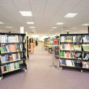 Langdale library book collection