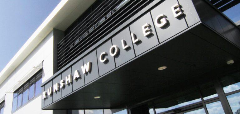 Runshaw Adult College Header