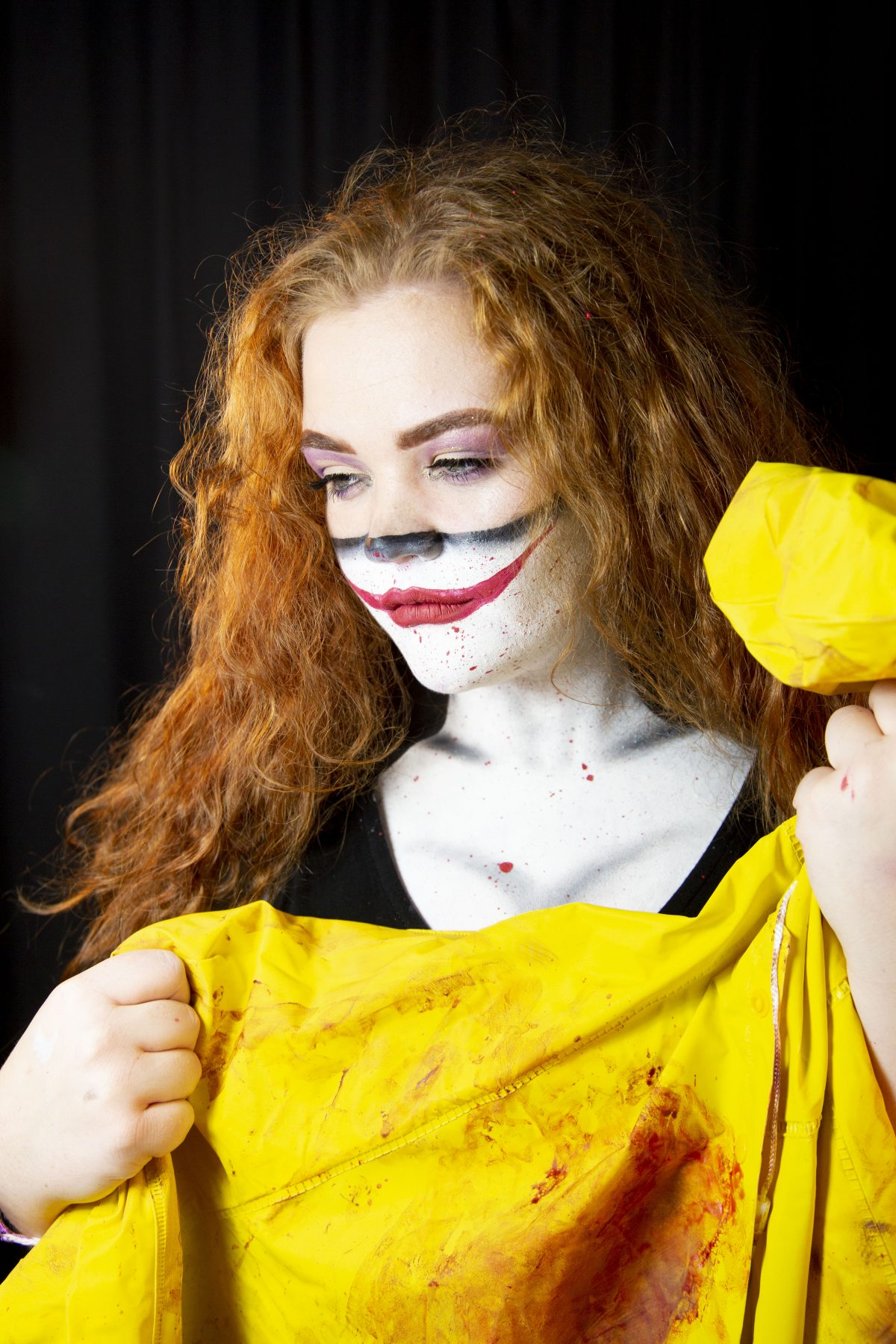 Media Makeup Halloween Photoshoot — Runshaw College