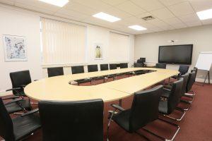 Runshaw College Boardroom