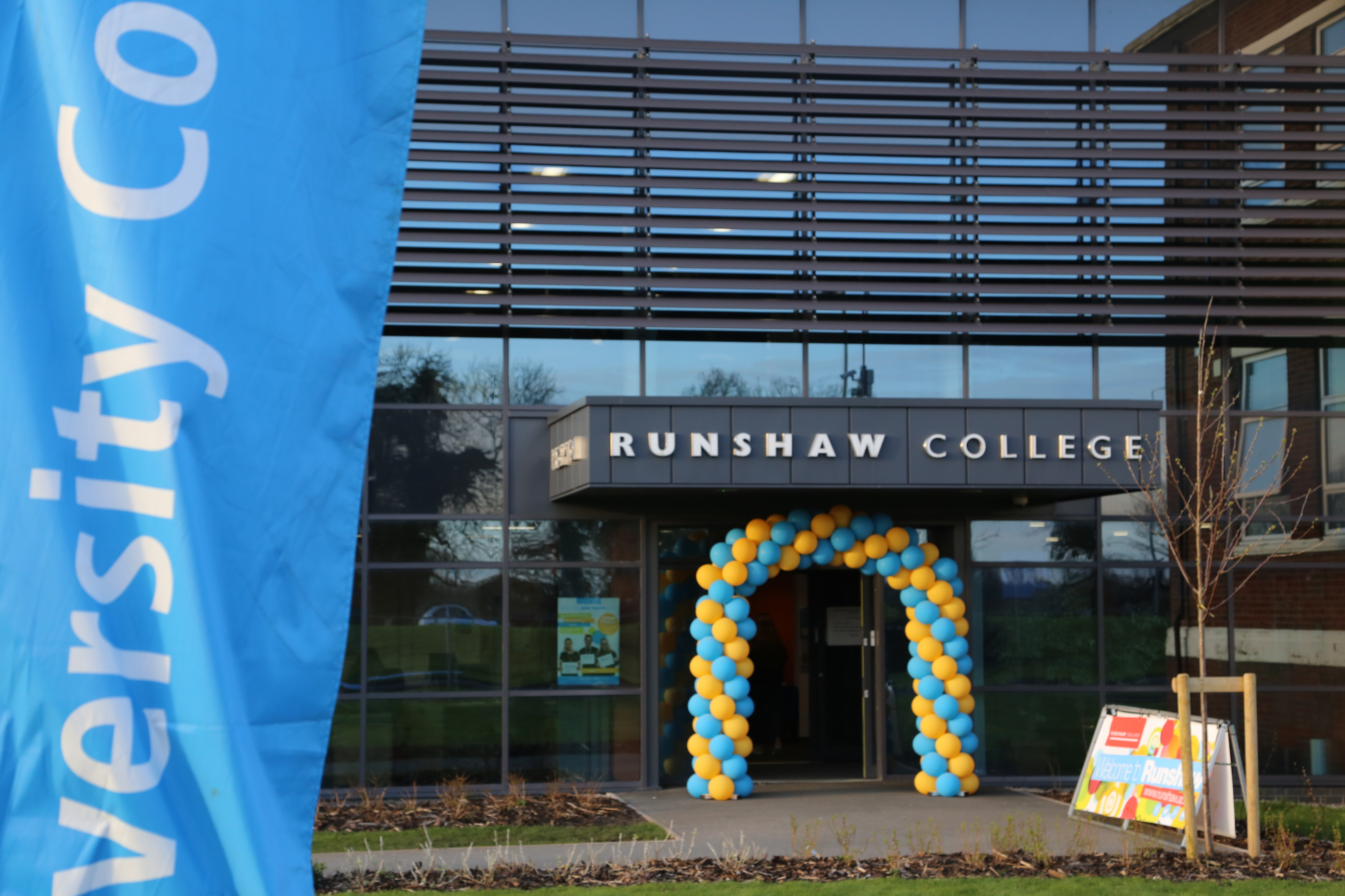 Experience Runshaw at one of our Open Events