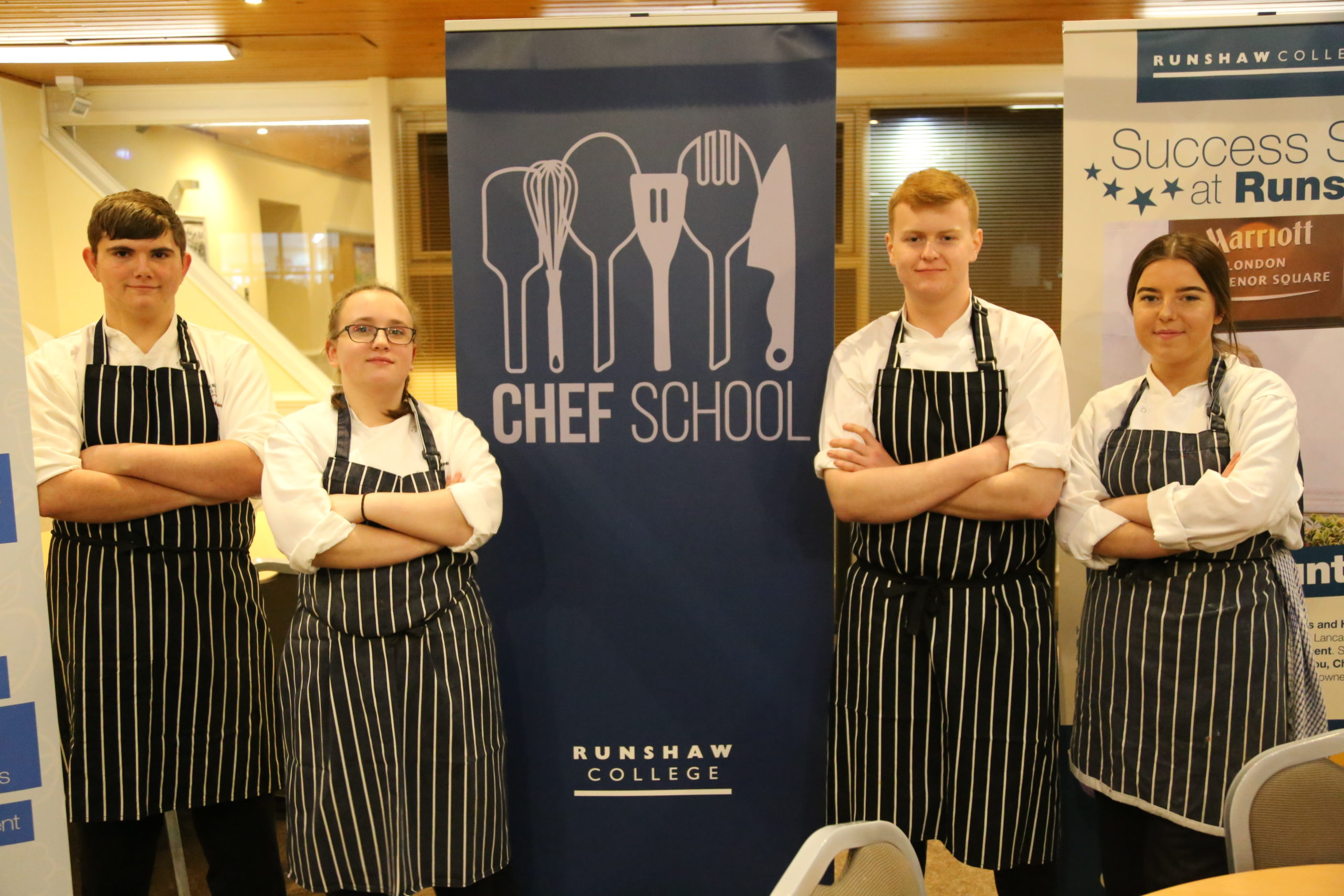 Chef School Students