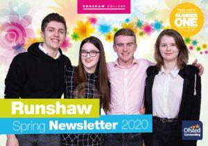 Runshaw Spring Newsletter 2020 Thumbnail
