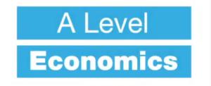 A Level Economics Video Thumbnail