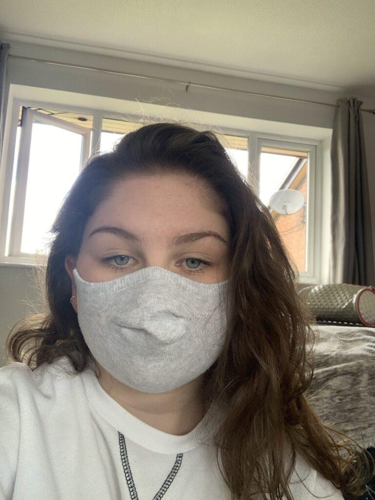 Making masks story