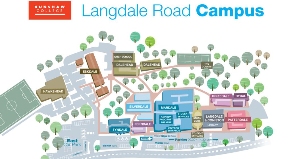 Langdale Road Map