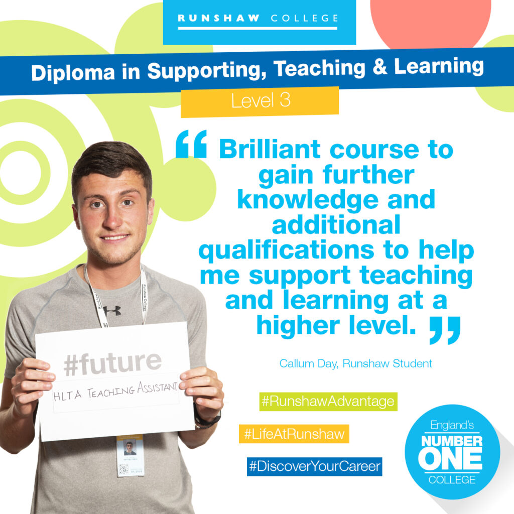 Callum Day - Supporting, Teaching & Learning