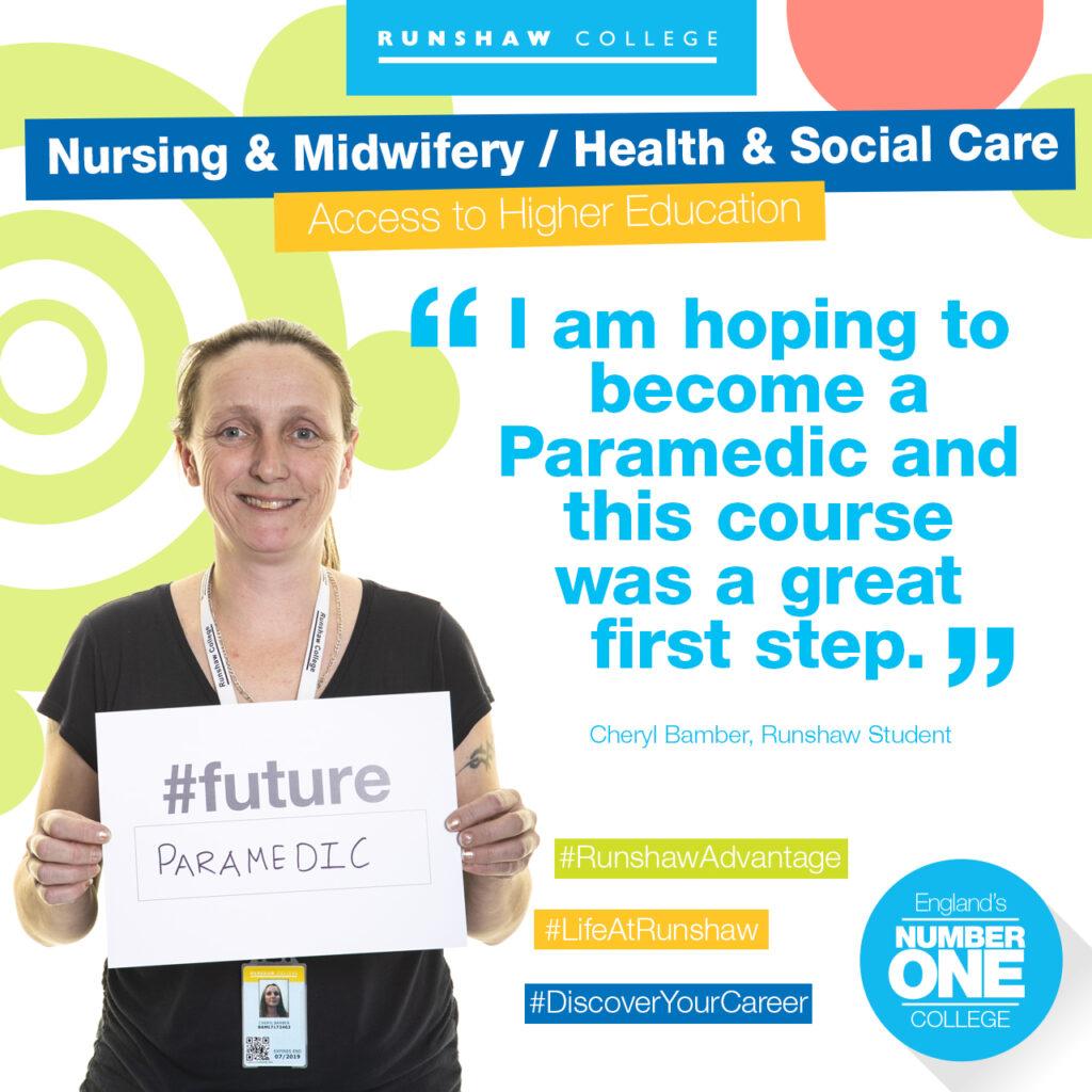 Cheryl Bamber - Nursing / Health & Social Care