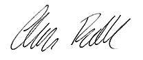 Clare Russell Signature