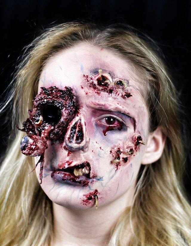 Hair & Media Make Up - Halloween Designs