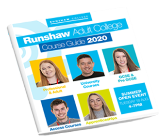 Runshaw Adult Course Guide Thumbnail