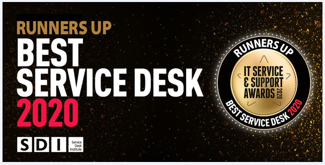 IT Service Desk Award