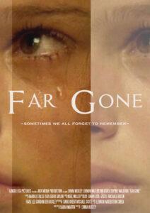 """A Level Media Studies Film Poster """"Far Gone"""""""