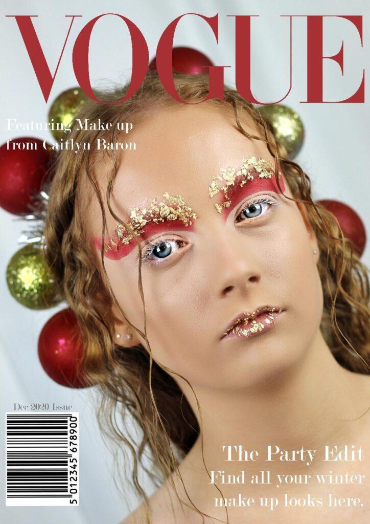 Caitlyn Barron - editorial photoshoot