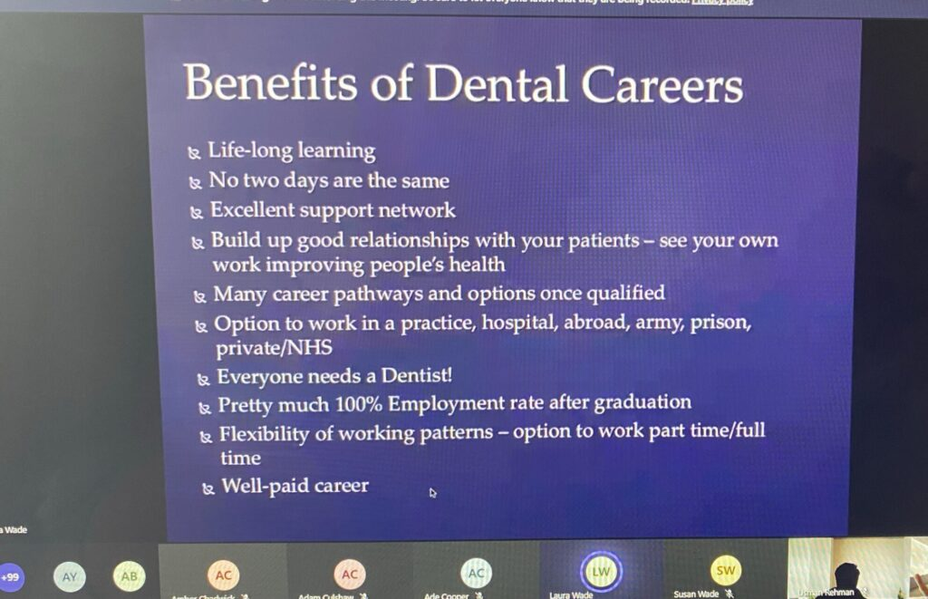Dentistry Guest Lecture