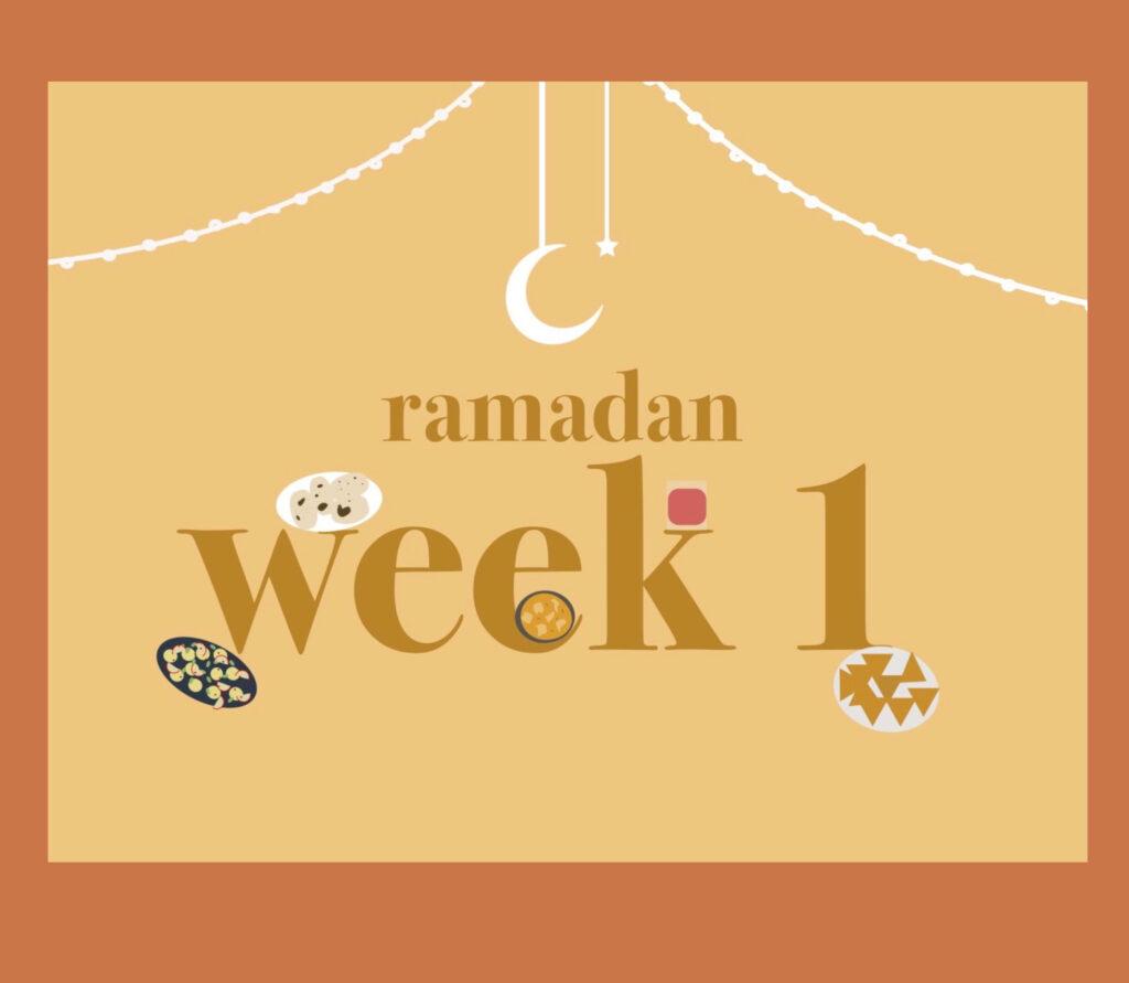 Ramadan Diary Week 1 Thumbnail