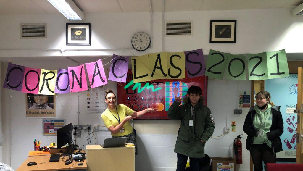 Media Studies Class Photo - Corona Class 2021